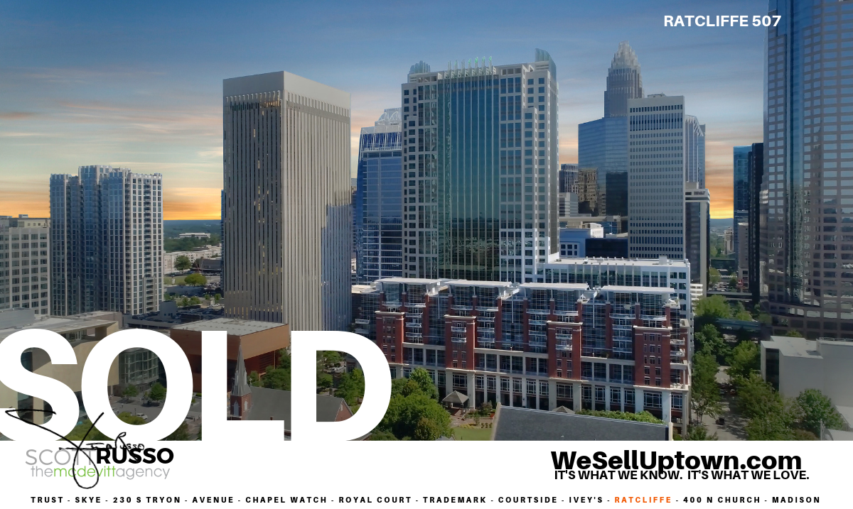 See all Ratcliffe condos for sale Charlotte NC 28202, WeSellUptown.com, Scott Russo The Mcdevitt Agency