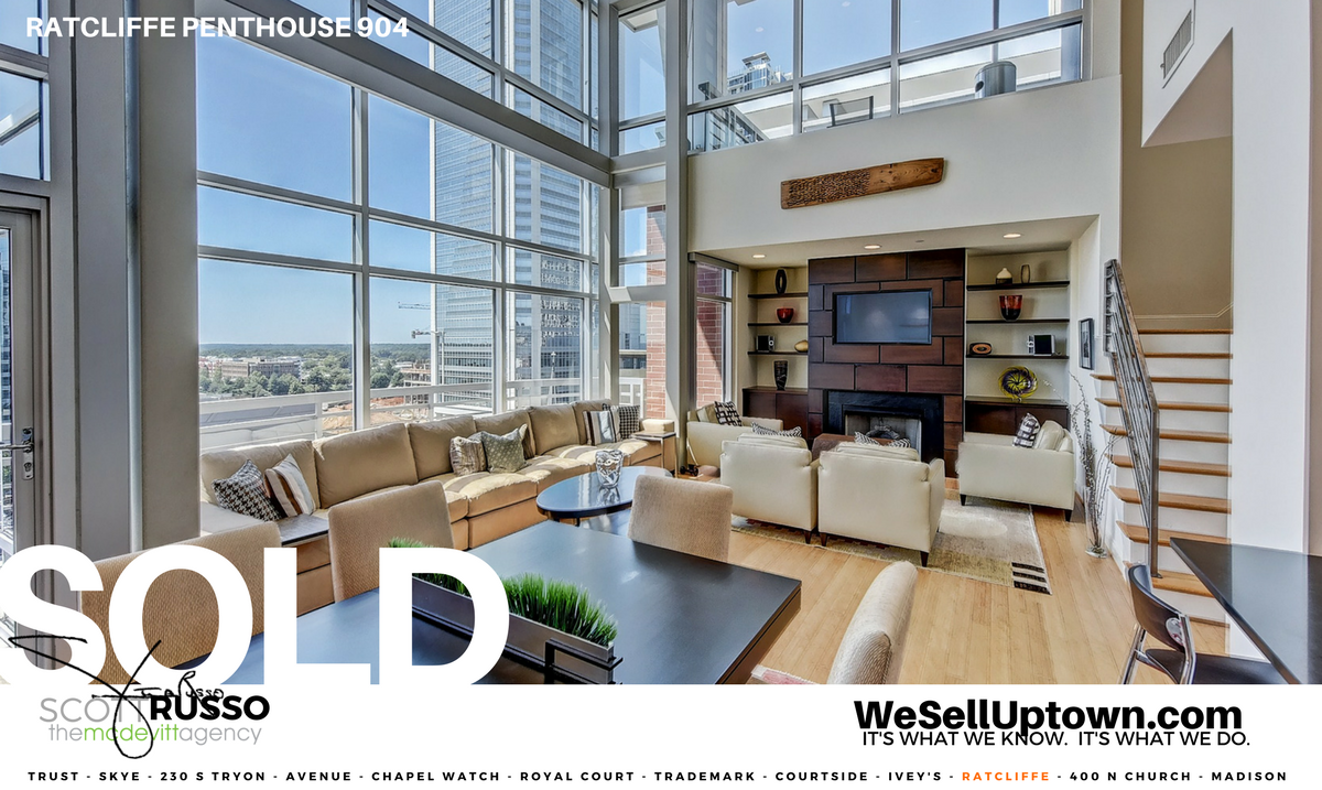 The Ratcliffe penthouse, Ratcliffe condos, Scott Russo Realtor, WeSellUptown.com